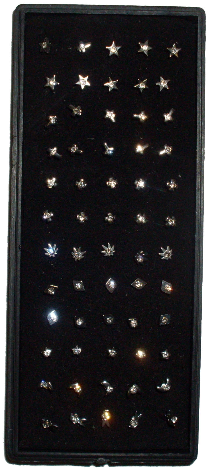 Box of Assorted Styles of Nose Studs